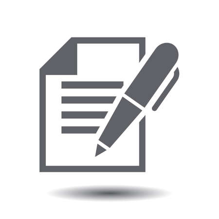 Agreement concept of business contract icon