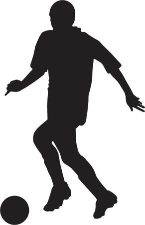 runing: jugador de f�tbol