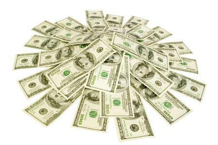 mucho dinero: gran mont�n de dinero en blanco
