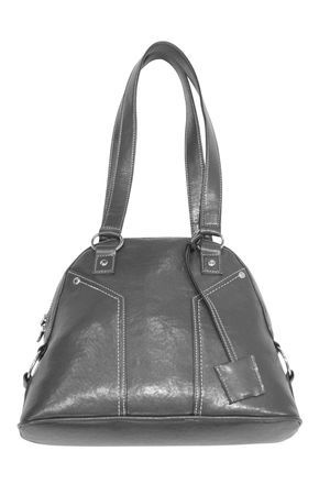 accessory. handbag isolated on white Stock Photo - 3835243