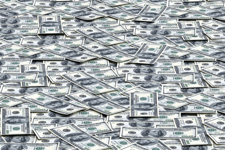 Money background from dollars usa. Business concept
