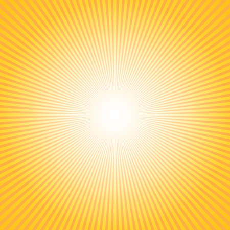 Abstract background with sun ray. Summer vector illustration for design