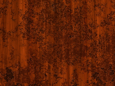 patina: Abstract generated rust metal surface grunge background