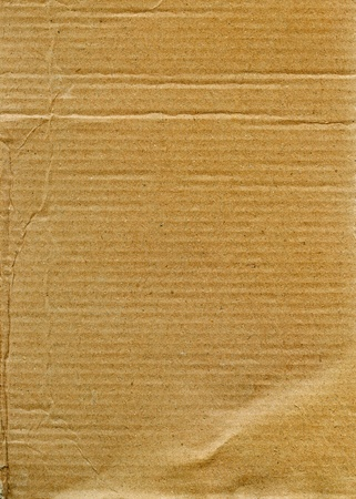 Textured recycled cardboard with natural fiber parts Stock Photo - 11111119