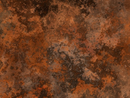 patina: Abstract generated rust metal surface background Stock Photo