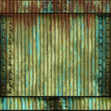 patina: Abstract generated patina rust metal surface background