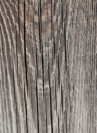 Weathered obsolete rough textured wooden background Stock Photo
