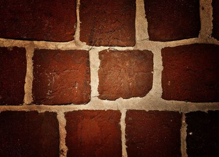 Old red bricks wall vintage grunge background Stock Photo - 13202899