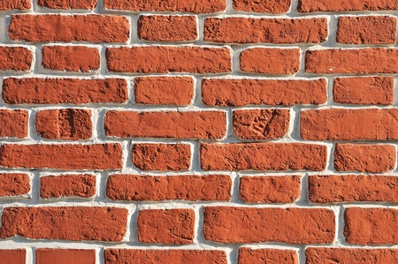 Old red bricks wall background Stock Photo - 13229926