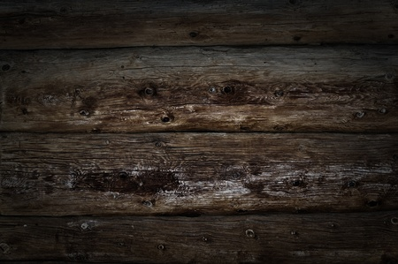 Weathered wooden logs with natural pattern vintage grunge background photo