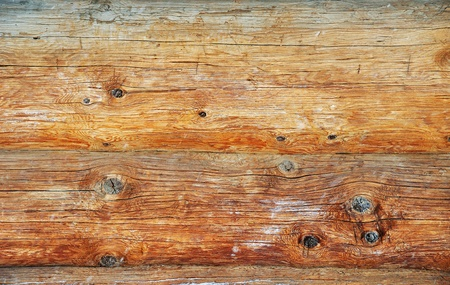 Weathered wooden logs with natural pattern vintage background photo