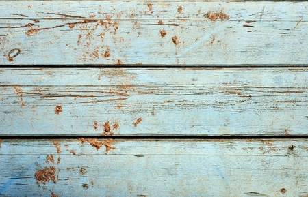 Obsolete weathered cracked textured painted wood background