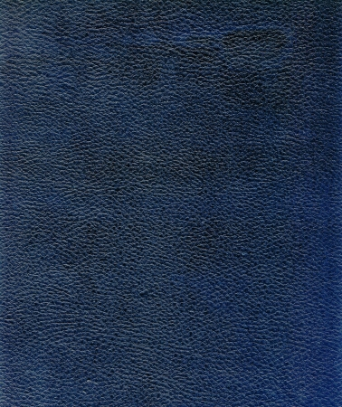 Natural dark blue rough leather textured background photo