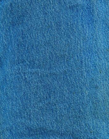 Striped textured blue jeans denim linen fabric background photo