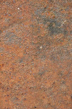 Textured corroded rusty rough metal surface photo