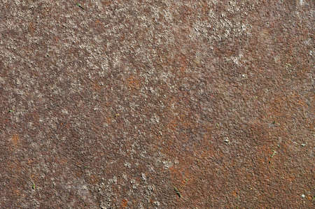 Textured corroded rusty rough metal surface background photo