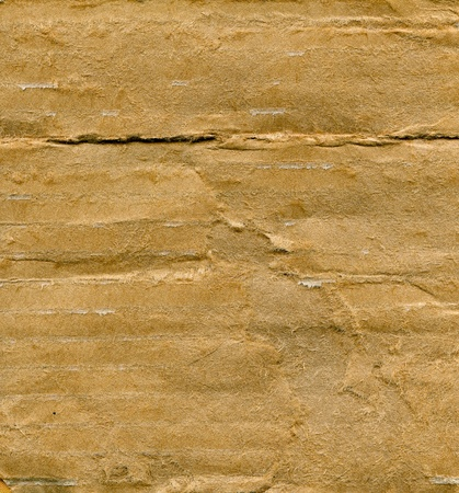 Obsolete textured recycled cardboard with natural fiber parts Stock Photo - 15304247
