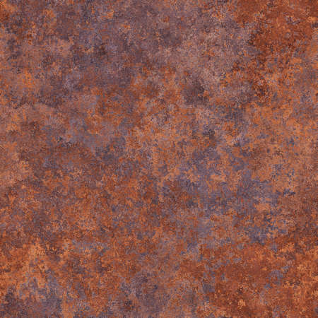 patina: Abstract generated rough rust metal surface seamless background Stock Photo