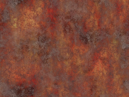 patina: Abstract generated rust metal surface seamless background