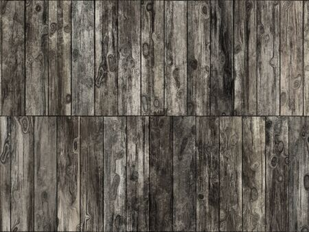 Abstract generated weathered obsolete wooden planks background Stock Photo - 17475231
