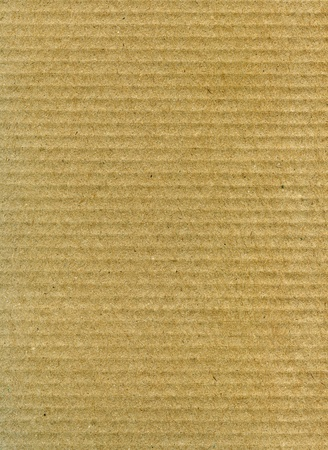 ribbed: Textured recycled striped cardboard with natural fiber parts Stock Photo