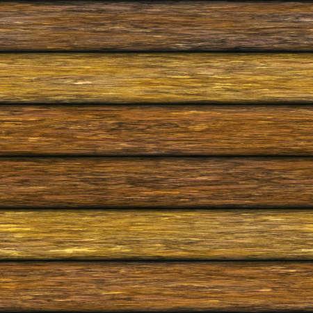 Weathered wooden logs natural pattern seamless background, digital illustration illustration