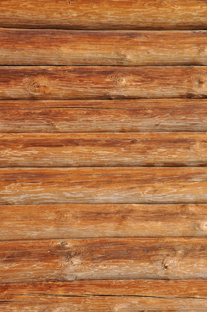 Weathered wooden logs with natural pattern background