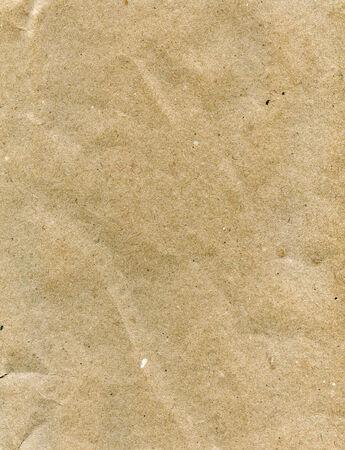 茶色廃止されたの丸めて包装紙のテクスチャ