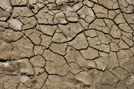 Cracked textured dry ground nature surface background
