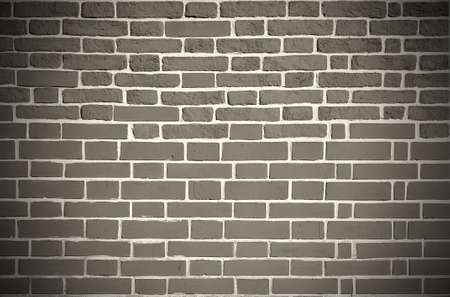 parget: Old grey bricks weathered wall vintage background Stock Photo