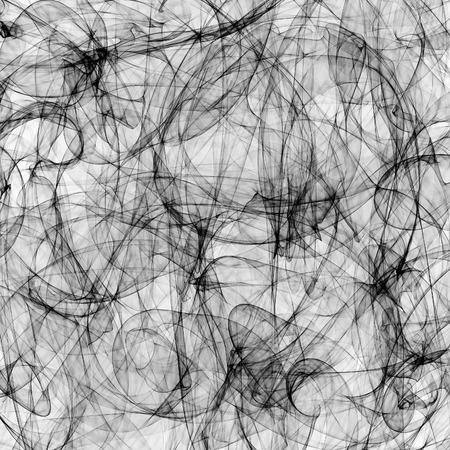 Fundo abstrato do teste padrão gerado preto e branco