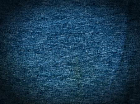 denim background: Striped textured blue used jeans denim linen vintage background