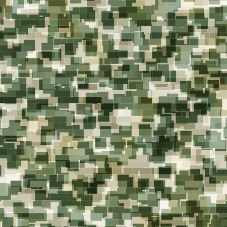 color conceal: Abstract generated camouflage pattern for background and design Stock Photo