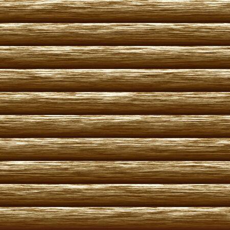 logs: Weathered wooden logs natural pattern background, digital illustration Stock Photo