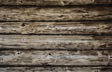 pattern grunge: Weathered wooden logs with natural pattern grunge background