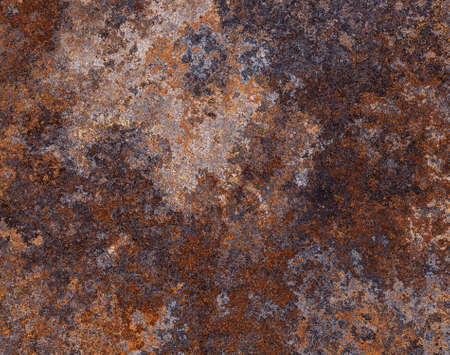 rust: Abstract generated weathered rust metal surface background Stock Photo