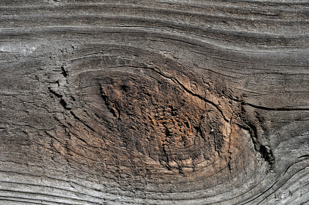 Weathered cracked obsolete rough textured wooden background Stock Photo