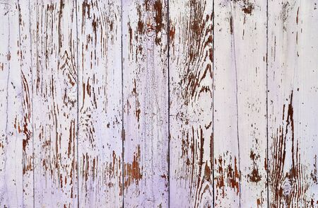 obsolete: Obsolete weathered cracked painted wooden planks background Stock Photo
