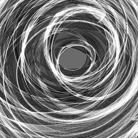 spiral: Abstract graphic black and white spiral pattern ornate background