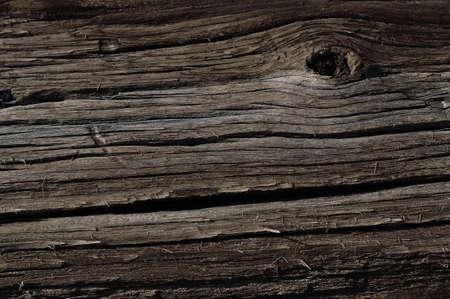 obsolete: Weathered obsolete rough textured wooden board grunge background Stock Photo