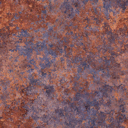 rust metal: Abstract generated rough rust metal surface seamless background Stock Photo
