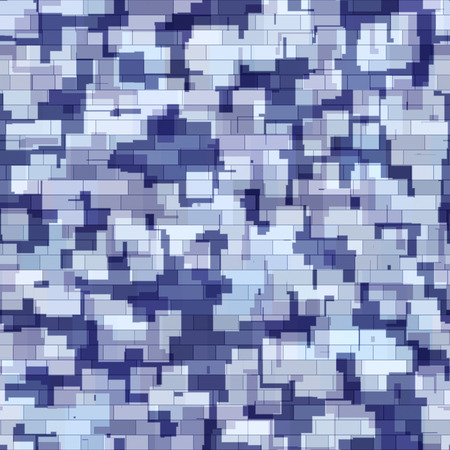 color conceal: Abstract generated blue grey camouflage pattern military background