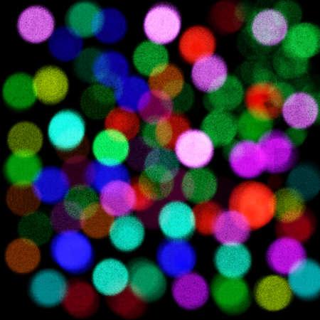 Shiny glowing lights holiday christmas bright background Stock Photo