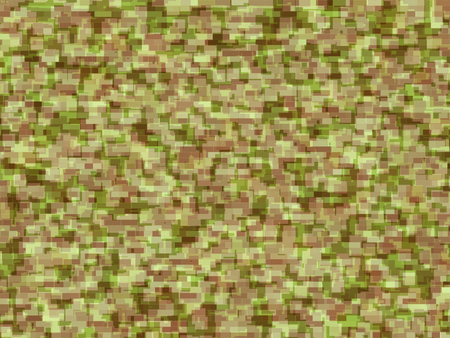 Abstract generated camouflage pattern for background and design Stock Photo