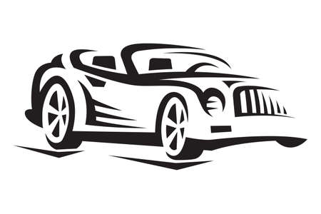 fast cars: car Illustration