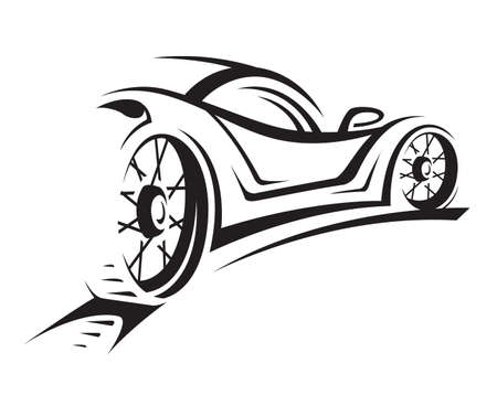 vehicle window: car Illustration