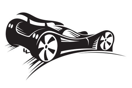 fast drawing: car Illustration