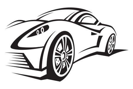 originally: car Illustration