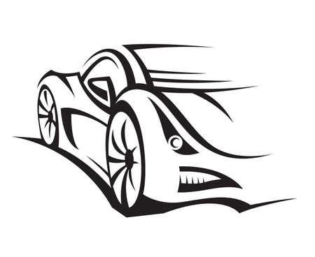 auto illustratie: auto