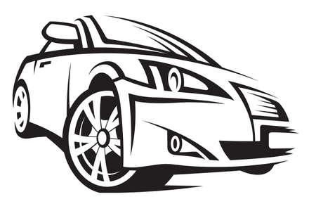 silueta coche: coche